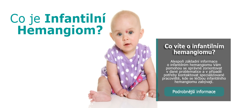 Co je infantilní hemangiom (IH)?